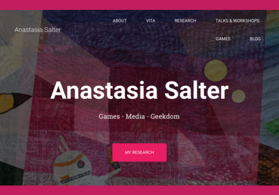 Anastasia Salter's Website