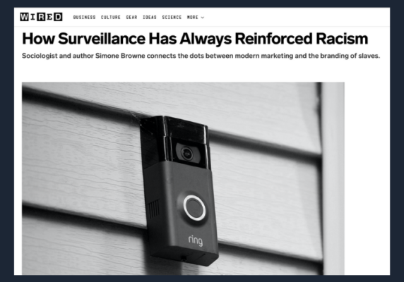 How Surveillance Has Always Reinforced Racism